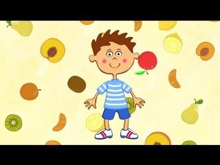 Сборник веселых песенок для детей Синий Трактор. Учим алфавит, фрукты, птичек, лево и право