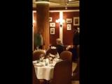 Касьянов и торт в московском ресторане