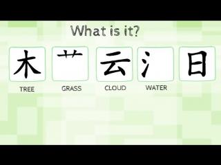 Chinese Radicals - Nature