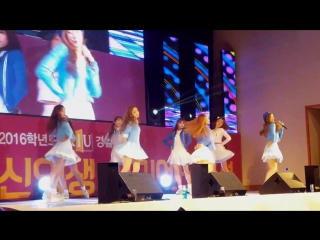 160215 ღ lovelyz — candy jelly love ღ «kyungil university freshman orientation»