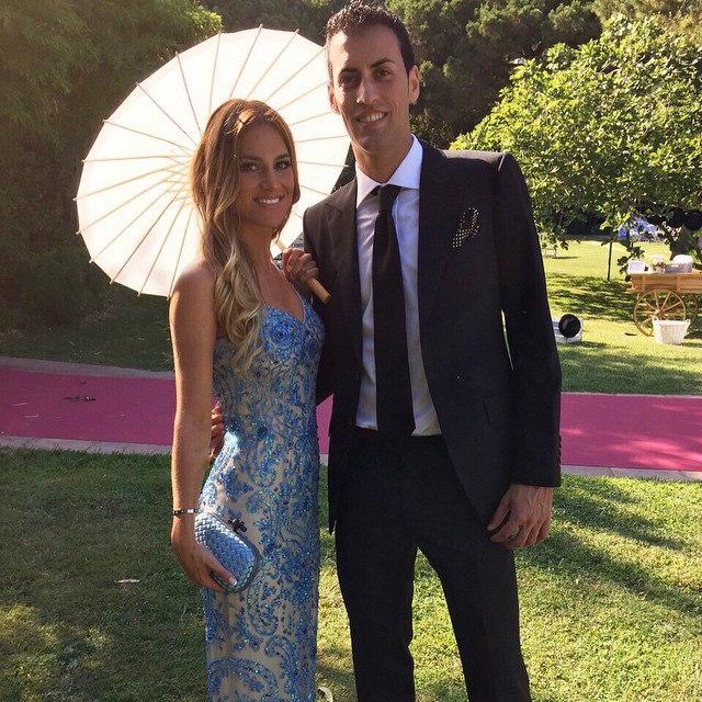 Серхио бускетс и его девушка фото