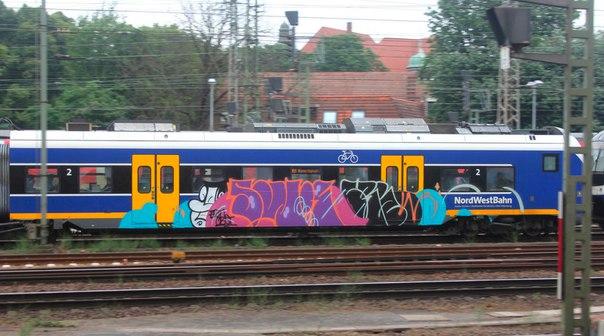 Bremen trainwritting
