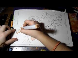 Мой фильм. Рисунок 33. Катсуми и Таскэ