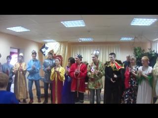 сказка «Как богатыри русскую землю спасли»