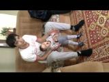 папа Димочка и  сынок Темочка. Они очень сильно любят друг друга