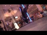 Леонид Волков - танцы в аэротрубе  Wind Games 2016