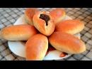 Пирожки с грибами (очень вкусное тесто), Patties with mushrooms (very tasty dough)