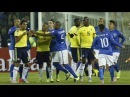 Neymar and Carlos Bacca Red Card • Neymar Fight • Brazil vs Colombia 0-1 Copa America 2015