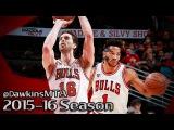 Derrick Rose & Pau Gasol Full Highlights 2015.11.07 vs Timberwolves - 32 Pts Combined