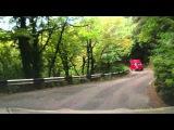 Дорога с горы Ай-Петри к Ялте,Крым