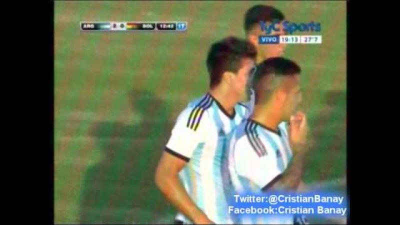 Судамерикано-U20-2015. Группа А. 5 тур. 22.01.15. Argentina 3 Bolivia 0 (CX12 Radio Oriental) goles