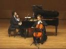 Gabriel Fauré Elégie pour violoncelle et piano. D. Louwerse, F. Daudet