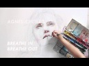 Breathe in, breathe out - sped up painting collaboration with Society6