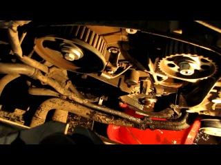 VW Crafter Замена ремня ГРМ