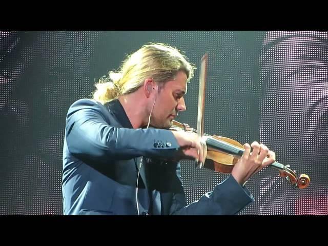 David Garrett - Lacrimosa - Mozart - Frankfurt 05.10.2014