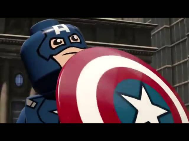 Lego Marvel's Avengers NYCC 2015 Reveal Trailer PS4 Xbox One PS3 Xbox360 WiiU PS Vita 3DS PC