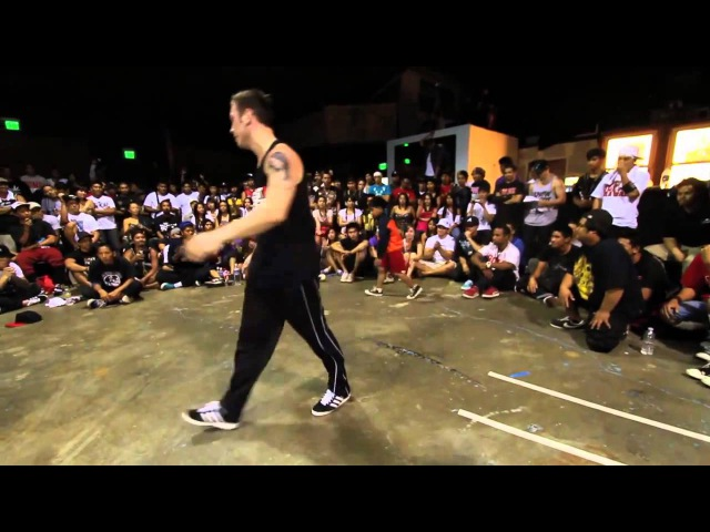 Niño le gana a un master de break dance HD