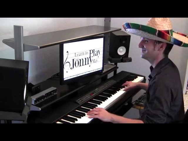 Sugar Cubes - Latin Jazz Piano by Jonny May (with Bloopers!)