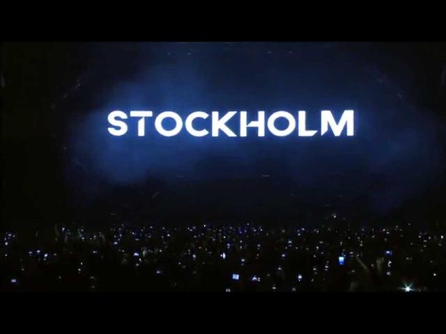 Avicii Intro Live @ Tele2Arena 2014 Stockholm