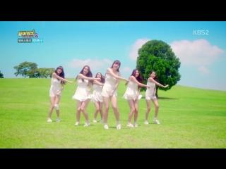 150729 GFRIEND MV Story Pt.1 @ KBS Stardust