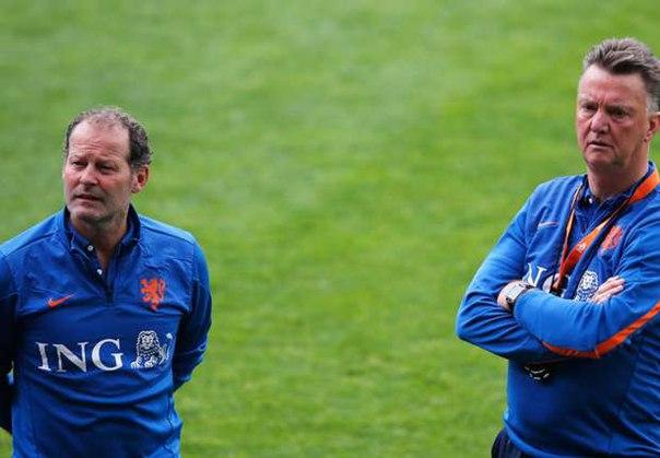 Данни Блинд: хочу видеть Ван Гала техническим директором сборной Голландии