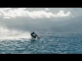 Мотоциклом по воде