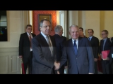 Встреча С.Лаврова и Ж.-М.Эро в Париже