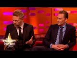 Chris Hemsworth Gets His Abs Out for Tom Hiddleston and Kenneth Branagh  - The Graham Norton Show
