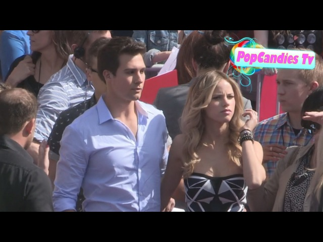 James Maslow Halston Sage at Nickelodeon's 26th Annual Kids Choice Awards in LA