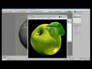 Текстурирование в 3Dsmax с использованием Projection mapping