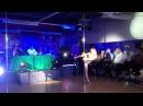 Танец на пилоне видео от тренера pole fitness Анны Кишениной. Mixx Pole Dance Studio