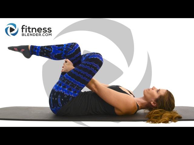 Relaxing Stretching Workout for Flexibility and Stress Relief - Full Body Yoga Pilates Blend