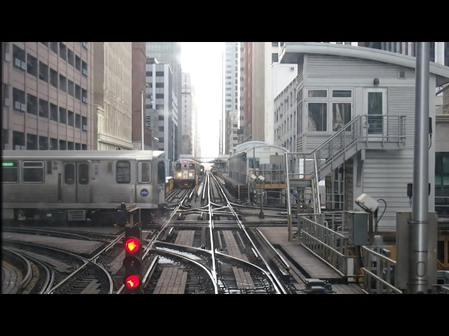 20150214 Chicago L Front View Counterclockwise | 【前面展望】 シカゴ L 反時計回り