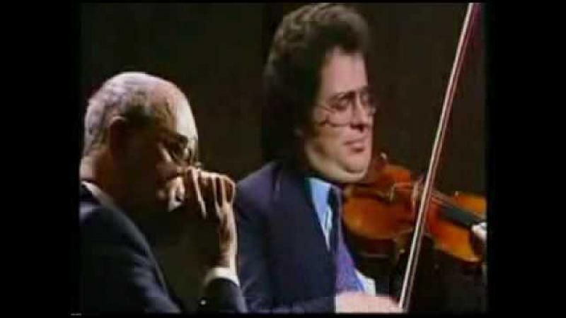 Larry Adler Itzhak Perlman perform Gershwin's Summertime (Parkinson BBC 1980)