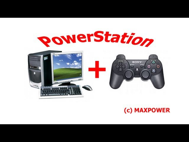 Как подключить джойстик от PS3 к компьютеру (How to Connect PS3 Gamepad to PC)