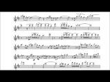 Warren Hill - My Love (sax alto  partitura  playback)