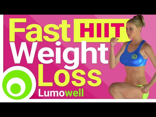 Fast Weight Loss with High Intensity Interval Training