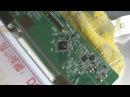 Ремонт ноутбука HP ProBook 4520s. Замена видеочипа. Ремонт матрицы ноутбука.
