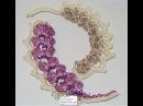 Ирландские кружева Мотив колосок. Irlanskie lace motif spike