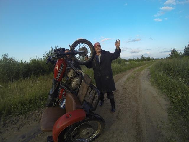 Эндуро - мотоцикл не главное! Адский отжиг на иже!