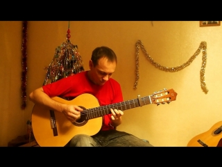 Кабы не было зимы на гитаре (Простоквашино) Fingerstyle - guitar cover.