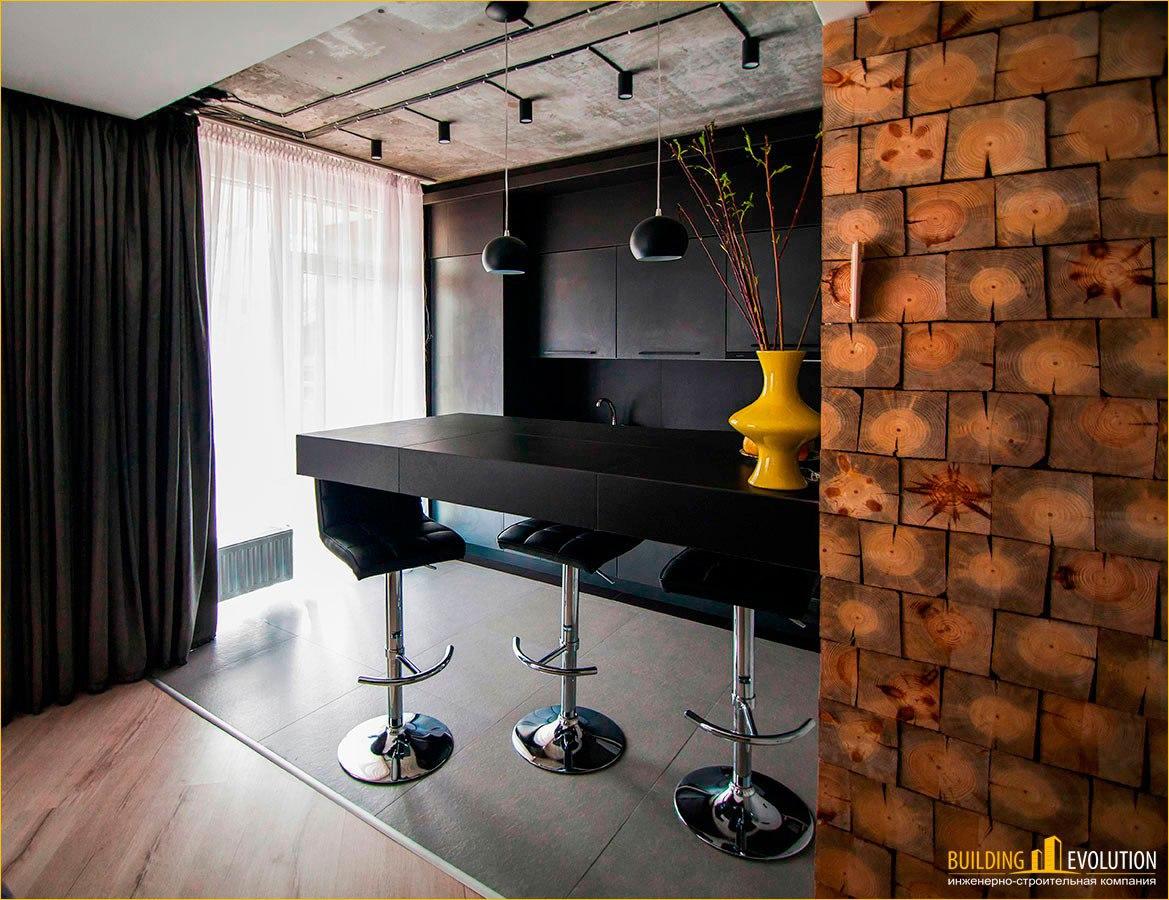 Интерьер квартиры 34 м по проекту в предыдущей новости - http://vk.