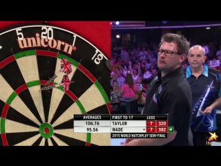 Phil Taylor vs James Wade (World Matchplay 2015 / Semi Final)