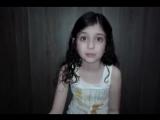 Garotinha de 8 anos falando sobre o que acredita