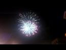 Праздничный салют на День Шахтера в столице ЛНР 29 08 2015