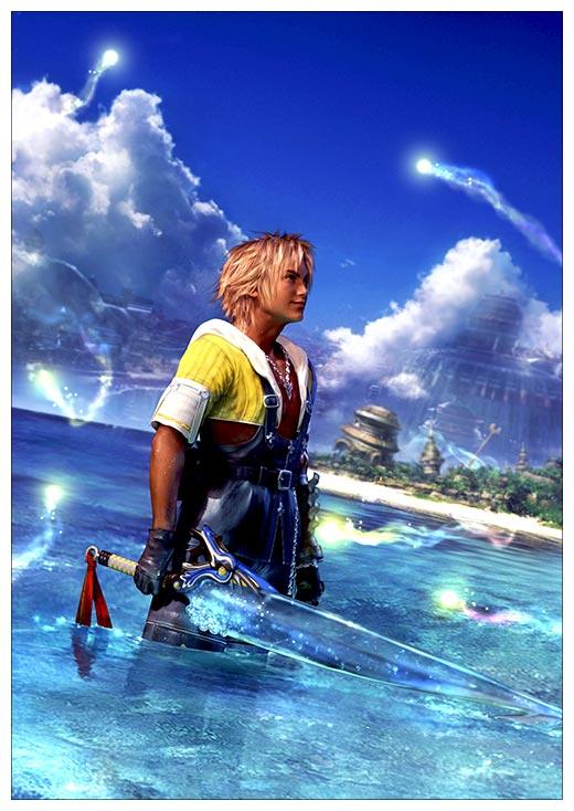 Купить постеры Final Fantasy