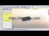 Использование библиотеки Solidworks Toolbox для построения канавок по ГОСТ