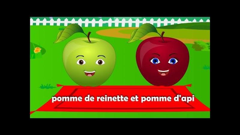 Pomme de reinette et pomme d'api 25 min de comptines et chansons pour enfants