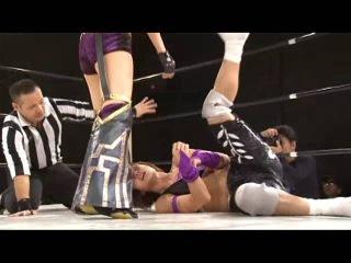 Mio Shirai & Kana vs. Tsukasa Fujimoto & Maki Narumiya (Ice Ribbon #423, )