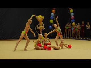 Художественная гимнастика/Метелица 2016/Команда г.Чебоксары